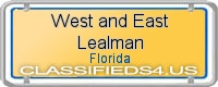 West and East Lealman board